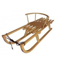 Lesene sanke 105 cm + stolček