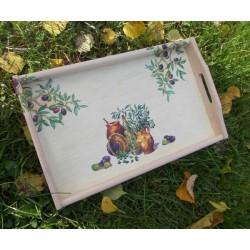 Unikaten lesen pladenj – Kraška domačnost