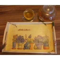 Unikaten lesen pladenj – Vonj po sivki