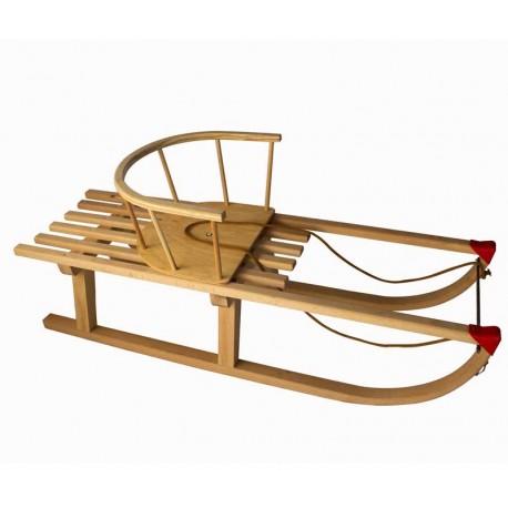 Lesene sanke 100 cm + stolček