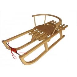 Lesene sanke 95 cm + stolček